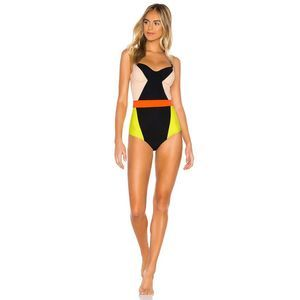 FLAGPOLE Babe Underwire Back Cut Out One Piece